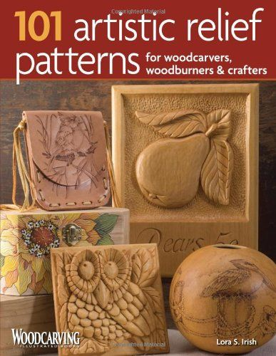 Artistic relief patterns for woodcarvers woodburners