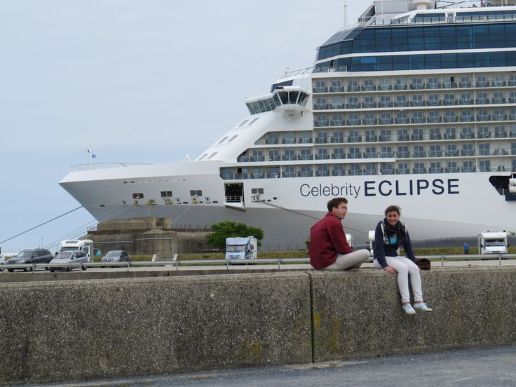 Celebrity Cruises - Aboard Celebrity Eclipse - Front of the Celebrity Eclipse