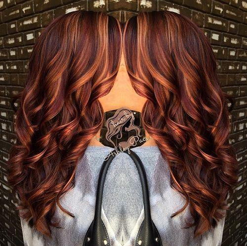 13 prachtige lange kapsels met een prachtige caramel kleur! - Kapsels voor haar