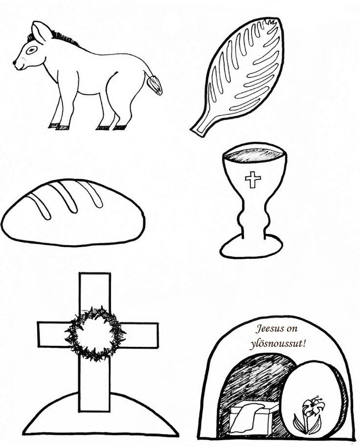 Pääsiäinen kuvat 1 (suomennettu) (Liittyy pinniin pääsiäinen (printattavat kuvat).