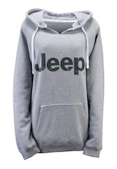 Jeep Gear Collection Apparel for Women Ladies Hooded Sweatshirt Part Number:10YKA