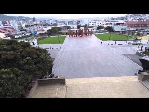 Drone flyover at Pukeahu - YouTube. See the finished National War Memorial Park in all its glory.