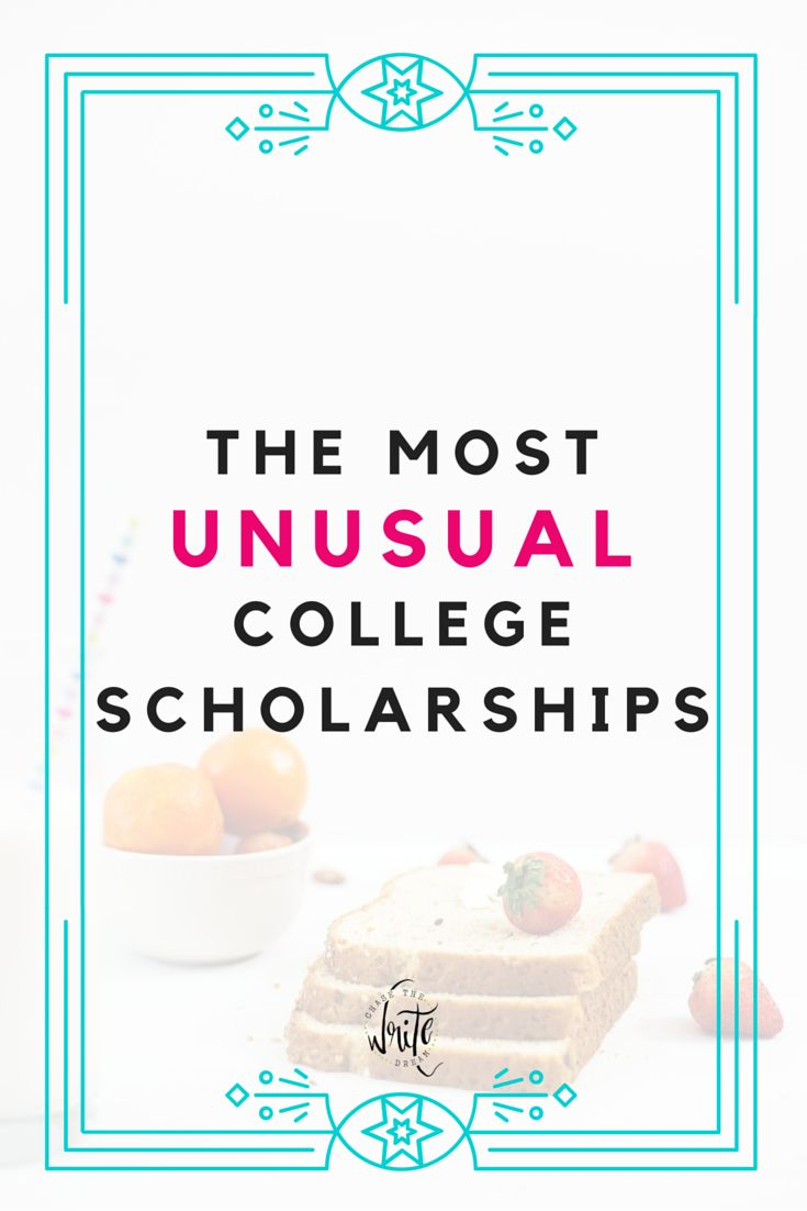The Most Unusual College Scholarships
