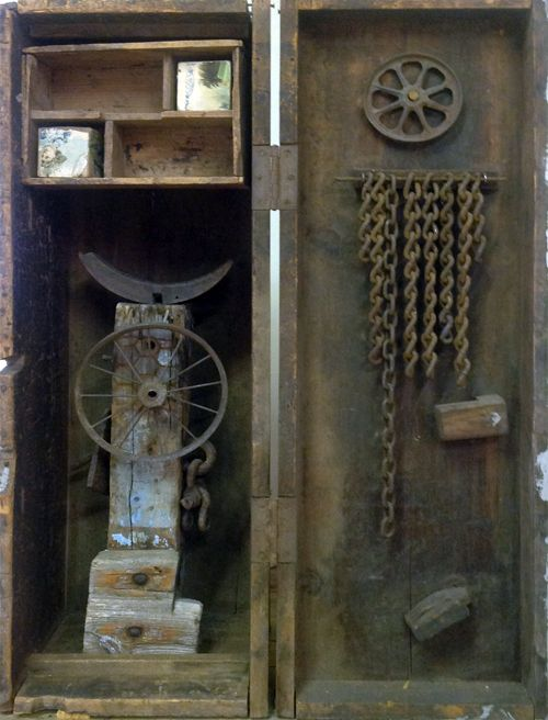 capricious steampunk bookends. Mildred C  Johnson 74 best Assemblage images on Pinterest art Boxes and