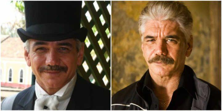 Antes e depois dos personagens de 'A Escrava Isaura' #timbeta #sdv #betaajudabeta