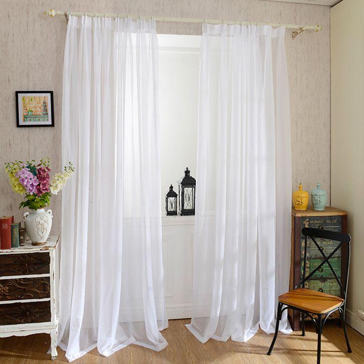 Inexpensive Kitchen Curtain Ideas: 25+ Best Ideas About Tulle Curtains On Pinterest