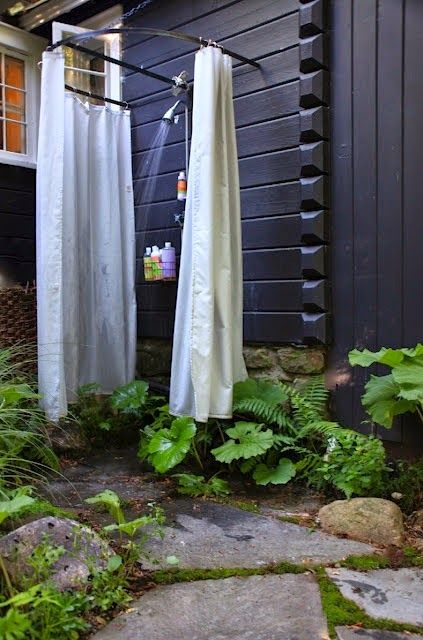Linea R: Mi ducha al aire libre