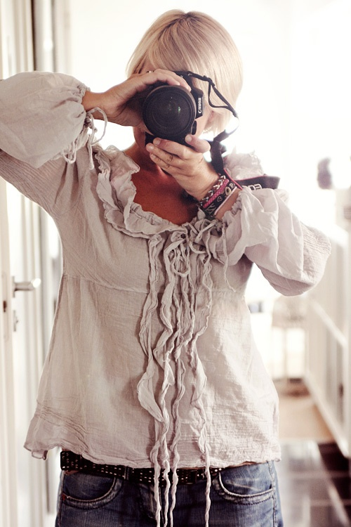 love, love, love this top  (photo from/by Helt Enkelt by Anna-Malin)