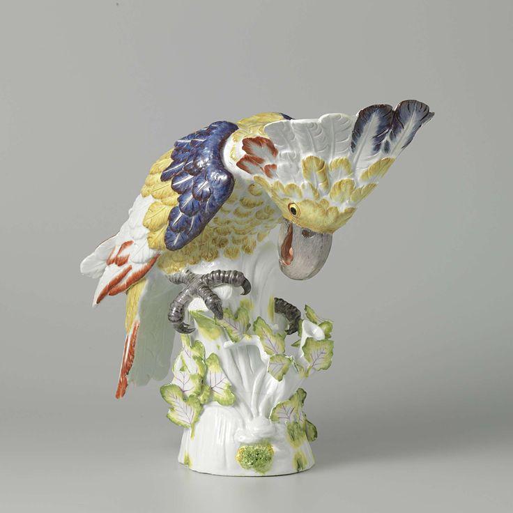Cockatoo, Meissener Porzellan Manufaktur, 1734