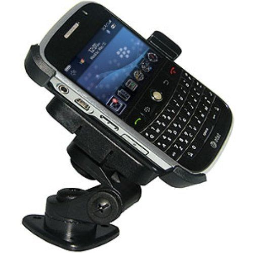 Amzer 3M Adhesive Dash or Console Mount for BlackBerry Bold 9000 - Black. 2 in 1 Mount designed specifically for BlackBerry Bold 9000. 1 inch tall pedestal is extremely versatile and adjusts to fit nearly all angles. 3 different rotating options. Easily transferred from one vehicle to another.