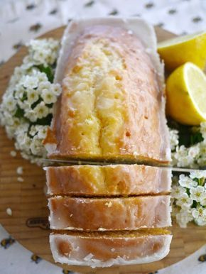 Simple but delicious Lemon Drizzle Cake  #dessert #bread