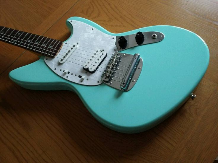 1996 Fender Jagstang Kurt Cobain Electric Guitar Sonic Blue | in Golders Green, London | Gumtree