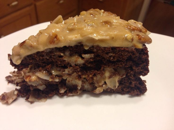 Diabetic German Chocolate Cake Icing Recipe