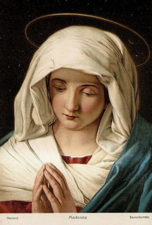 Madonna | Sassoferrato