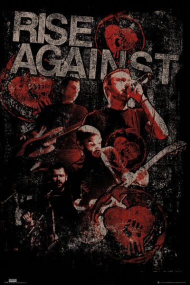 Rise Against Posterize - plakat