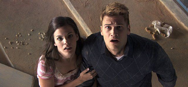 Still of Nick Zano and Haley Webb in The Final Destination (2009)