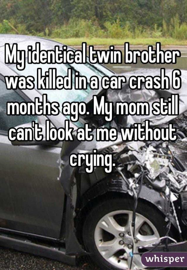 """One of my life goals is for my twin sister and I to date twins."" Real confessions from twins via Whisper, the anonymous sharing app."