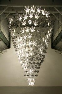 Escultura cinética de metacrilato del artista Che U-Ram. Blog de MW Materials World.