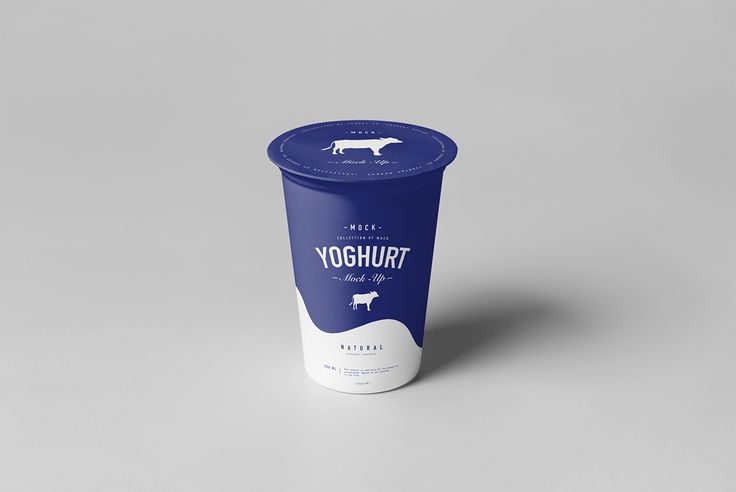 Yoghurt Mock-up 2 on Behance