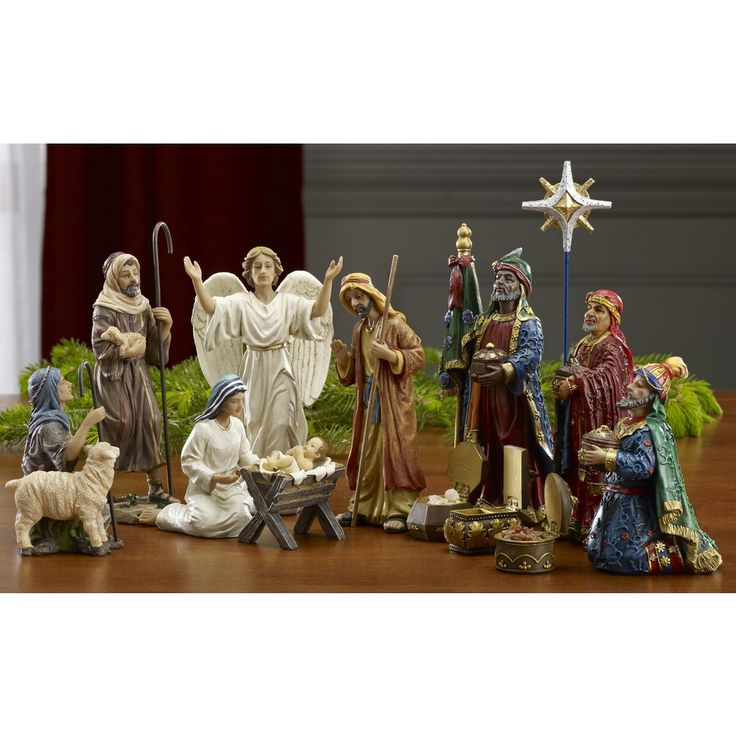 Real Life Nativity Set - 7 inches, $134.95