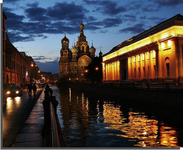 I've been to Venice twice and I promise you there's no canal city in the world like St. Petersburg, Russia. Plus, white nights, baby!
