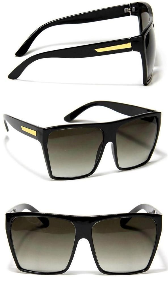 flat top sunglasses 9yum  Chinaware diy 路 Large Retro Style Square Aviator Traperzoid Flat Top  Sunglasses Nerd Celebrity