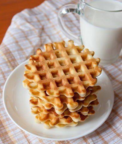 30 рецептов вафель для электровафельницы — Вкусные рецепты