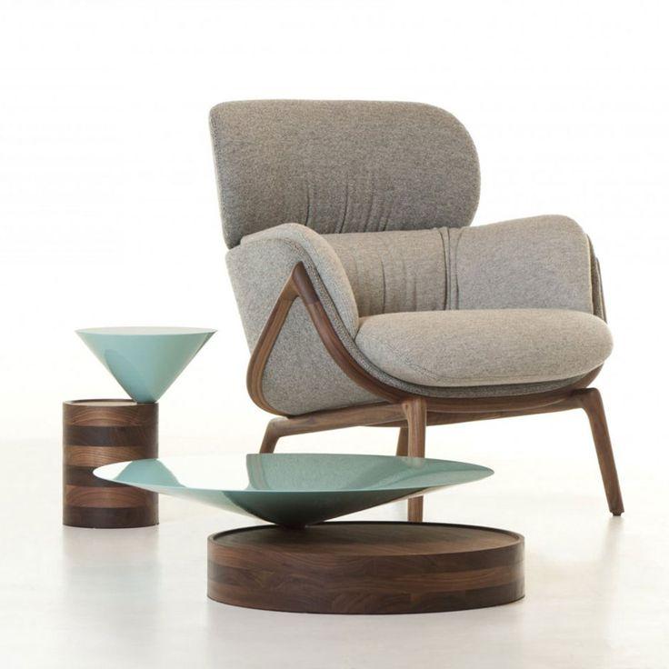 LAUREL SIDE TABLE - NICHETTO at Spence & Lyda #sidetable #spenceandlyda #nichetto #australia #sydney #marble #timber