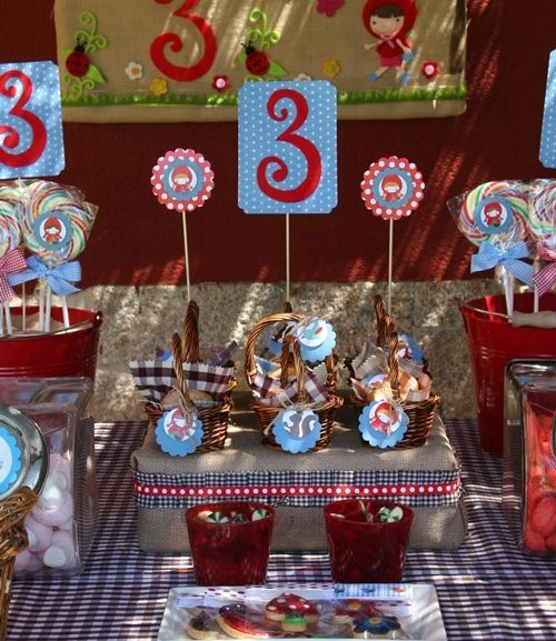 La fiesta de cumpleaños de Alicia Caperucita