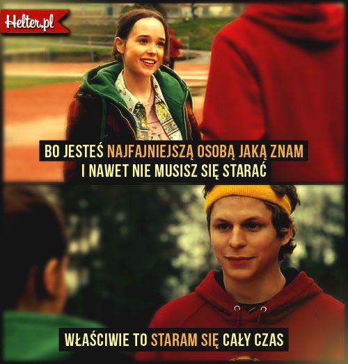 Cytaty Filmowe z Filmu Juno #polskie #cytaty #filmowe #popolsku #helter #filmy #kino #juno #ellenpage #romantyczne #miłość