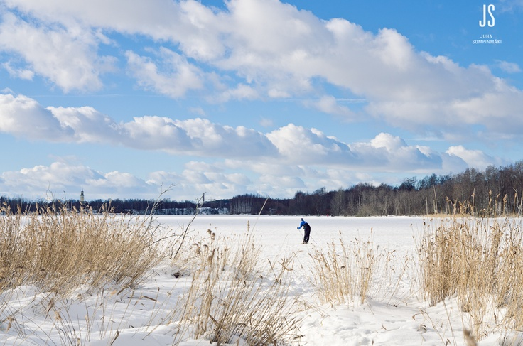 Iidesjärvi lake, Tampere, Finland #Finland #Tampere