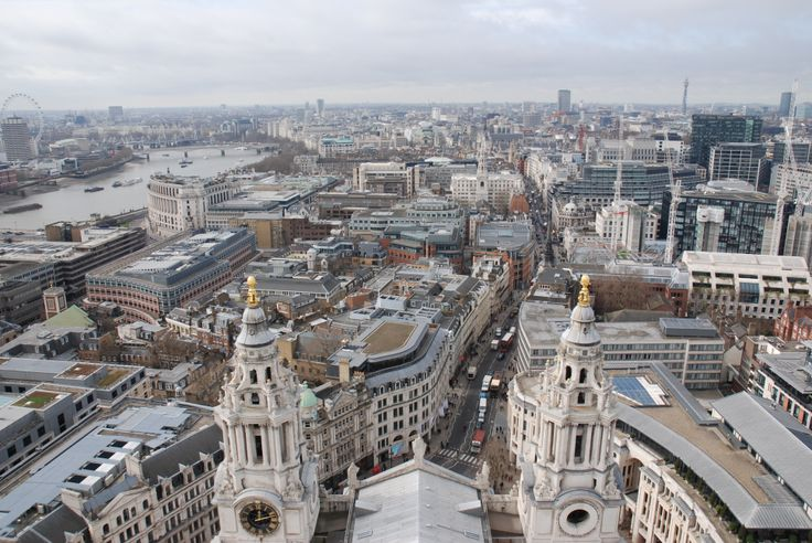 On top of St Paul's Cathedral