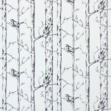 Gardinen - Jenny Wren Graphit - Bleistift-Faltenband, Ösen, Schlaufen