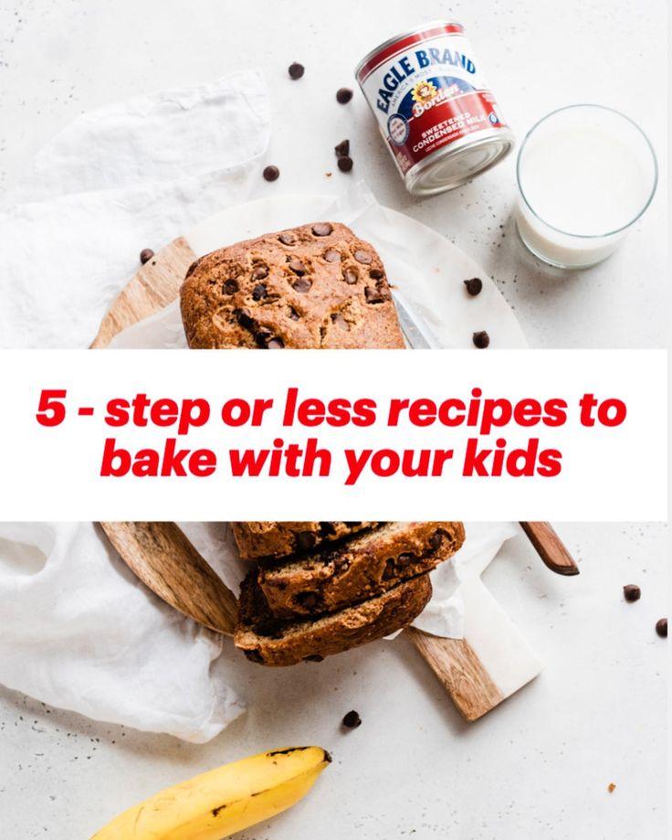 One Bowl Chocolate Chip Banana Bread Blue Bowl Recipe In 2020 Banana Bread Recipes Condensed Milk Recipes Banana Recipes
