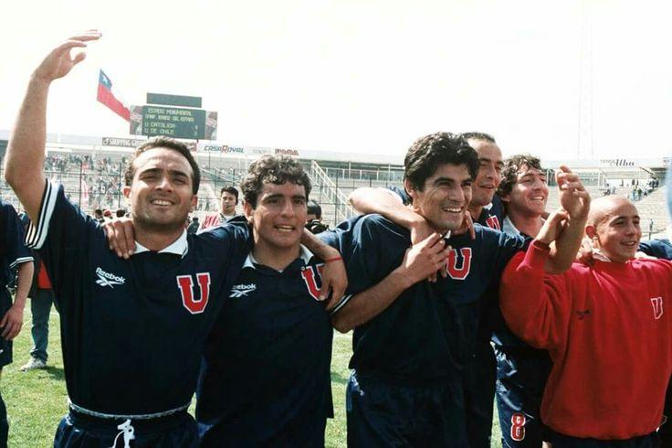 1998. Estadio Indio. U de Chile (3) v/s (1) Uc