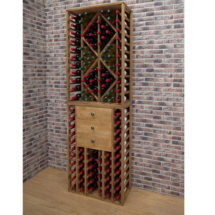 Weinregale PROVINALIA aus Holz, ein Blickfang für jeden Raum.