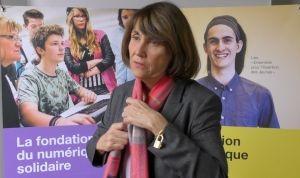 Christine ALBANEL : la Fondation Orange crée la Bibliothèque Numérique