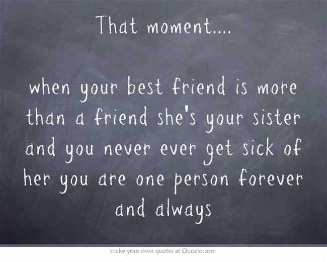 That moment. when your best friend is more than a friend she's