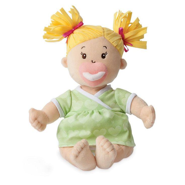 Baby Stella Blonde Baby Doll by Manhattan Toy, Multicolor
