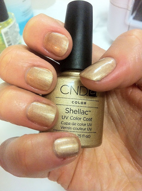 CND Shellac Iced Cappuccino | Nail polish swatches | Cnd ...