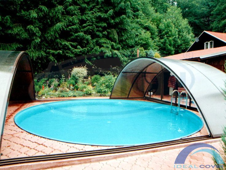 Круглый бассейн Albion Econ pools серии Sun.