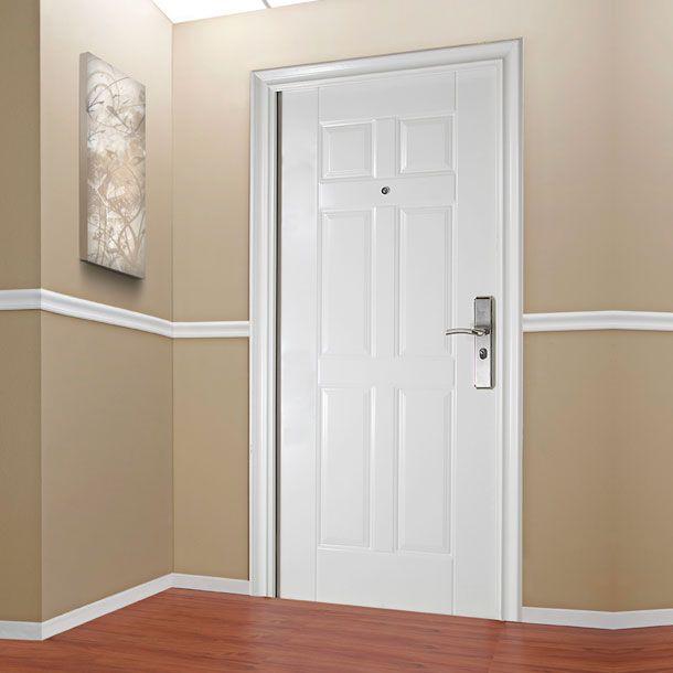 Las 25 mejores ideas sobre puertas de acero en pinterest for Pintar marcos de puertas