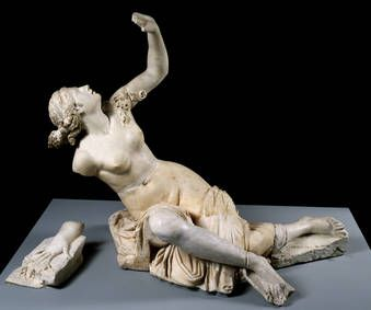 """Clitia"", Anónimo / Giulio Cartari, 130-150, Mármol"