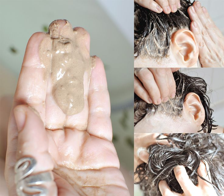 Haarewaschen mit Heilerde