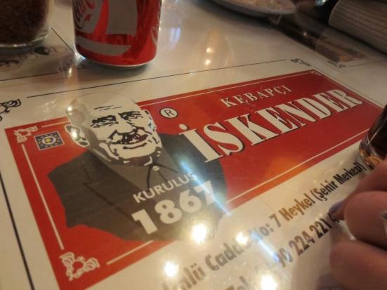 Turkey Kebapcı Iskender Bursa Great Turkish food & How to be a writer