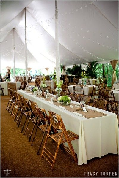 I'm not sure I would go the Tent route, but I like this set up and LOVE the string lights.