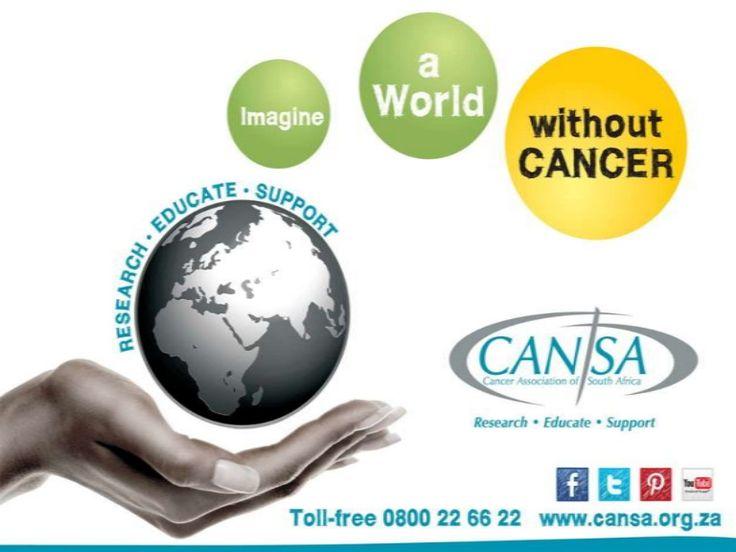 #WorldCancerDay 2014 slideshow by CANSA The Cancer Association of South Africa [via slideshare]  ~#DebunkCancerMyths
