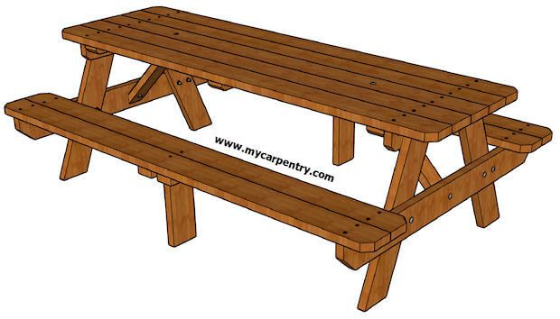 Picnic Table Plans Insteading Diy Picnic Table Picnic Table Plans Build A Picnic Table