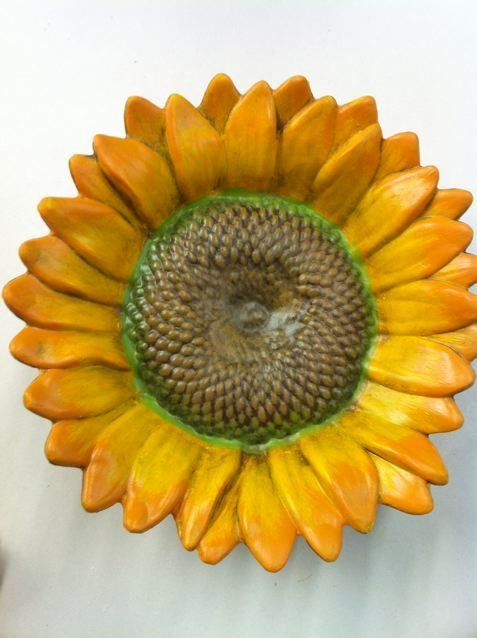 Summertime Ceramic Sunflower By Milmontmudhut On Etsy
