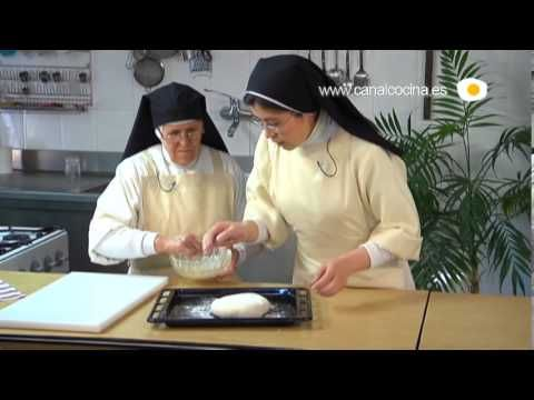 ▶ Divinos Pucheros receta de Pan payés - YouTube